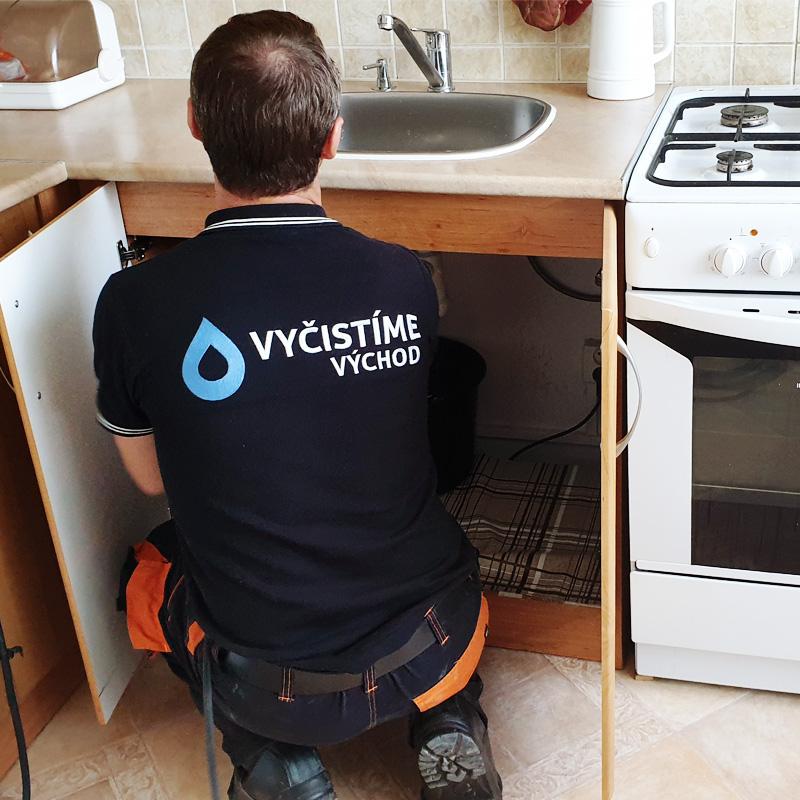 Odmastenie a prečistenie kuchynského potrubia, drezov, syfónov