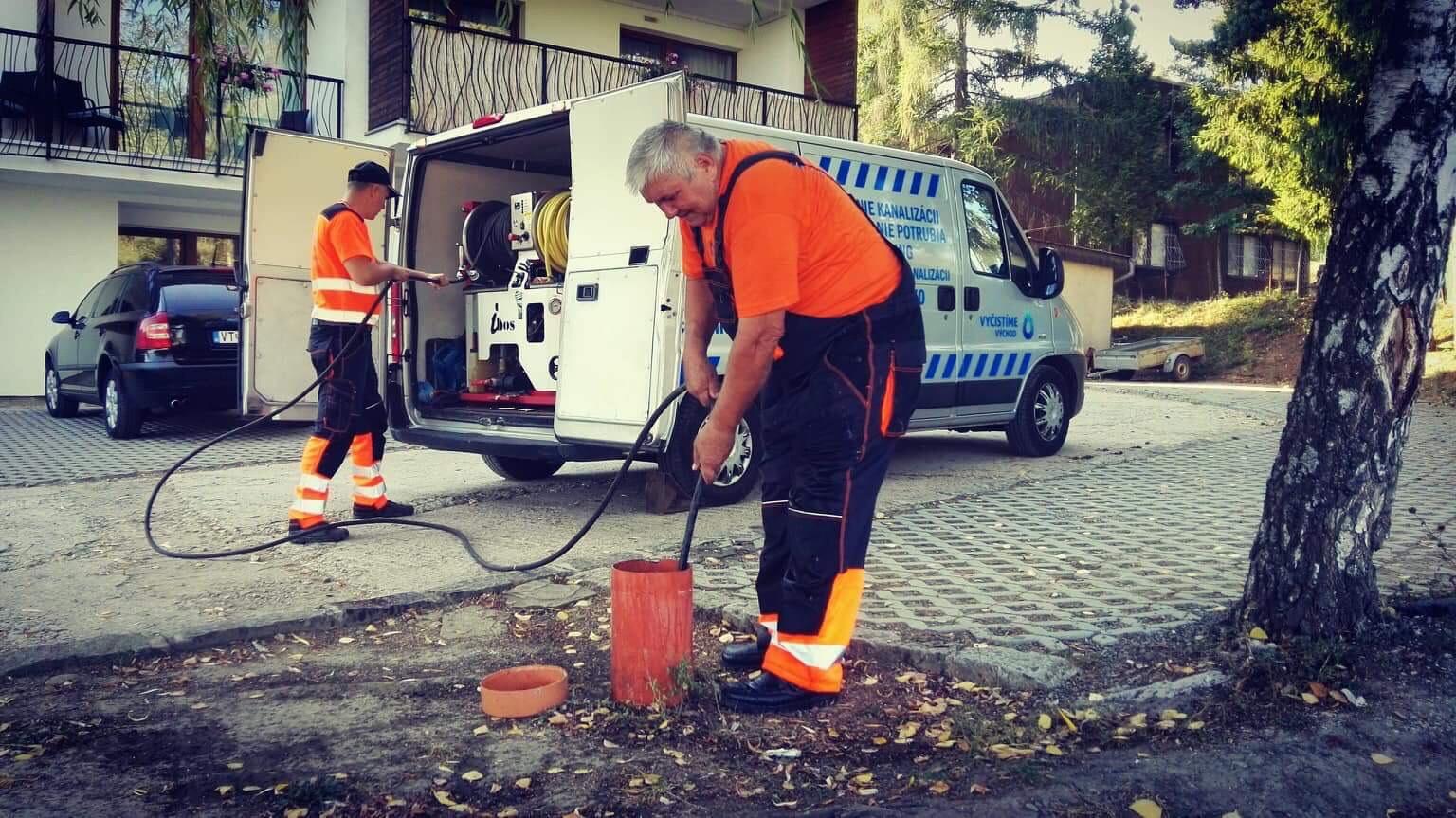 Čistenie kanalizácií