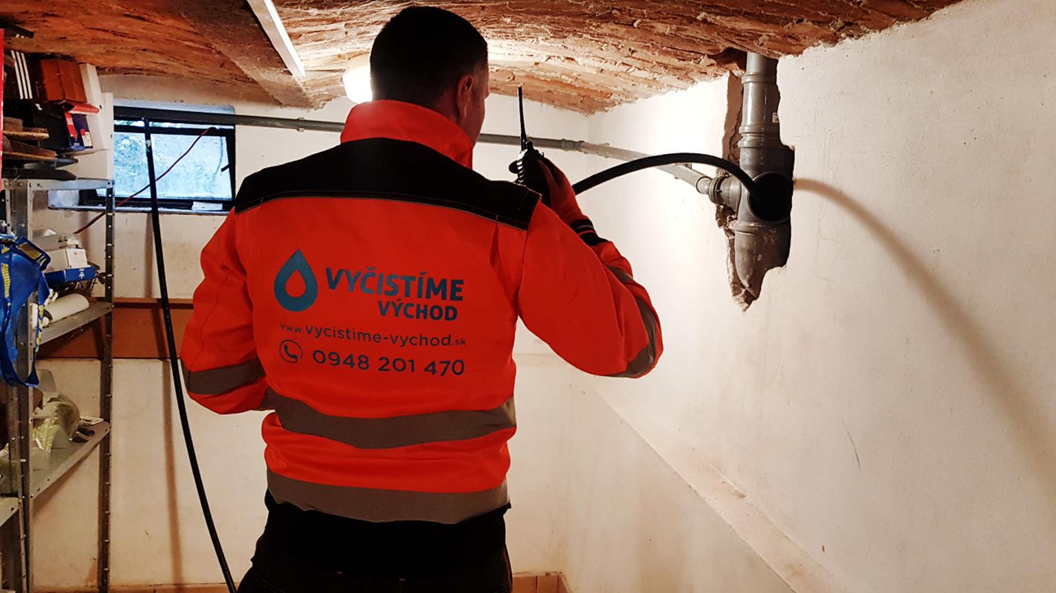 Čistenie kanalizácie, potrubia, krtkovanie, prebíjanie upchatých odpadov