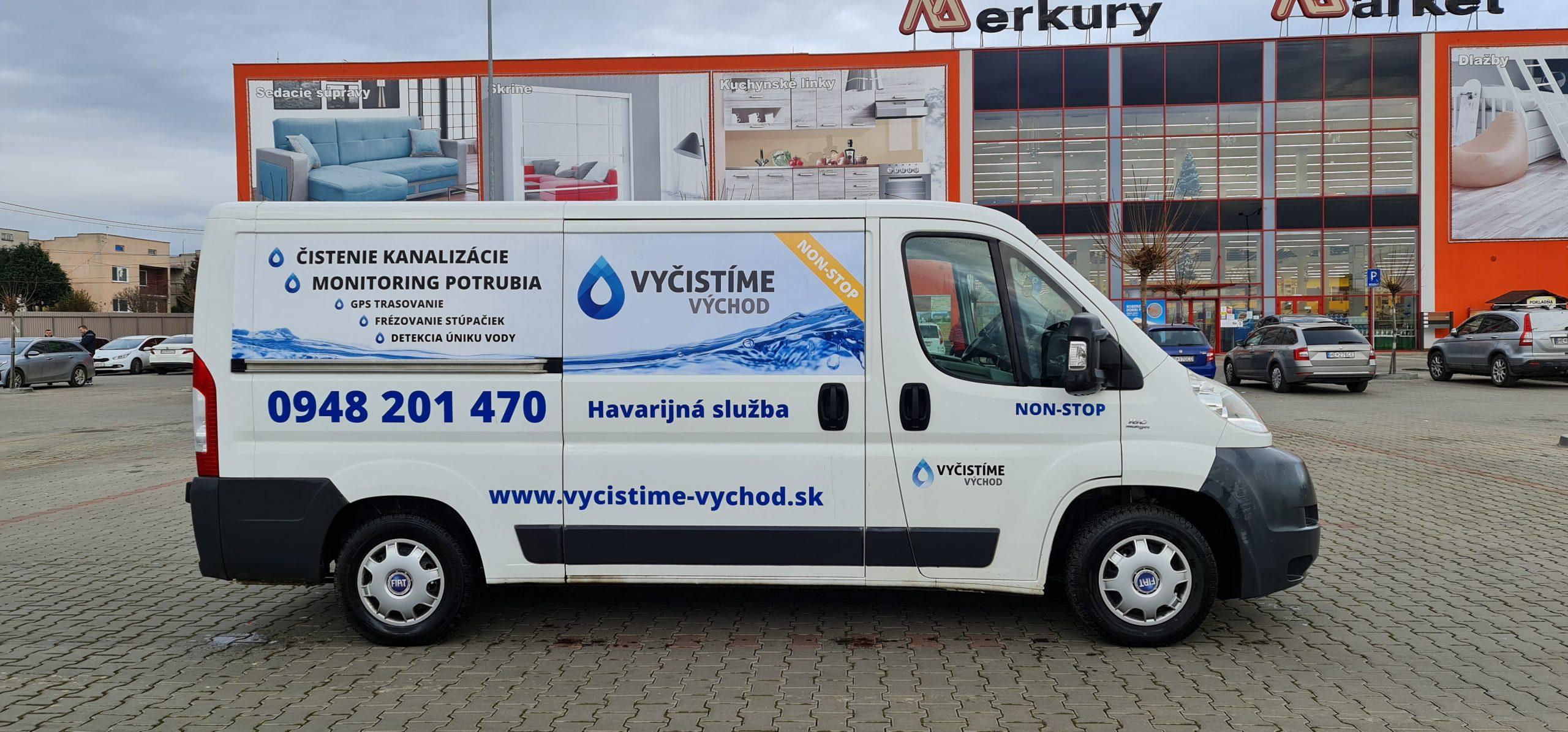 Vyčistíme Východ - čistenie a revízia kanalizácií a potrubia