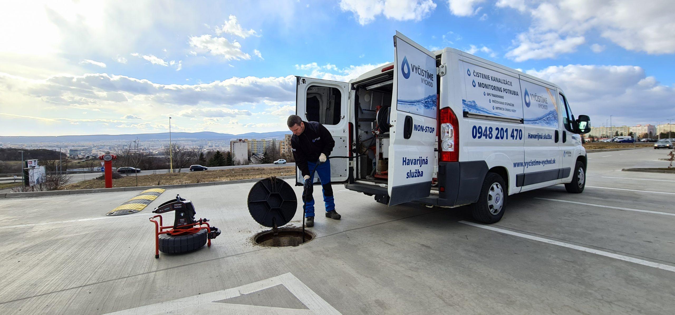 Vyčistíme Východ – čistenie a revízia kanalizácií a potrubia